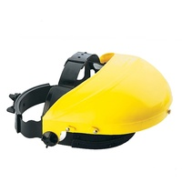 BossSafe Faceshield Harness + Yellow Browguar