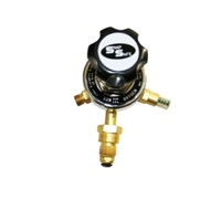 Harris Model 829 Oxygen Pressure Regulator Gaugeless