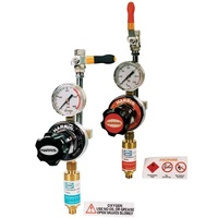 Harris Natural Pipeline reg Kit, 0-150kpa, Flare inlet