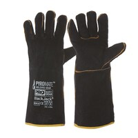 PRO Black & Gold Glove - Black Jack BGW16