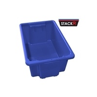 52L Stack & Nest Crates Blue