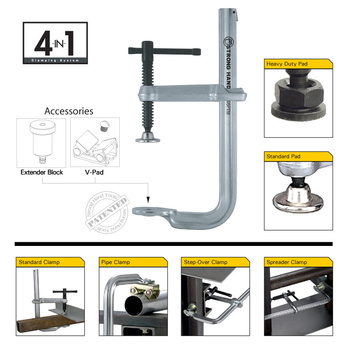 4 in 1 Utility Clamping System