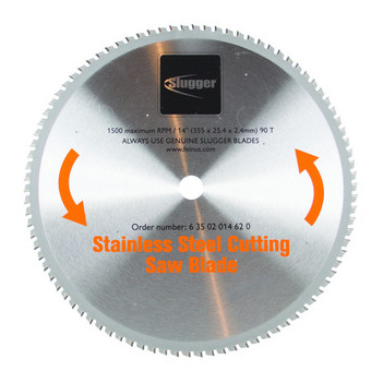Circular Saw Blade 355mm For Stainless Steel Fein 63502014620