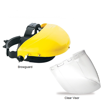 Browguard With Clear Visor 70008AVC