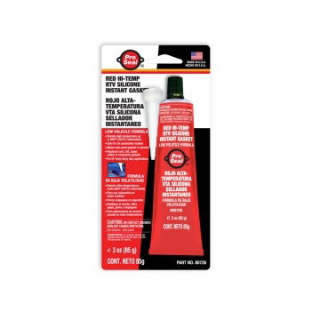 RTV Red Hi Temp 85g Tubes 80726 Pack of 12