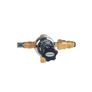 Harris Model 818 Oxygen Pressure Regulator