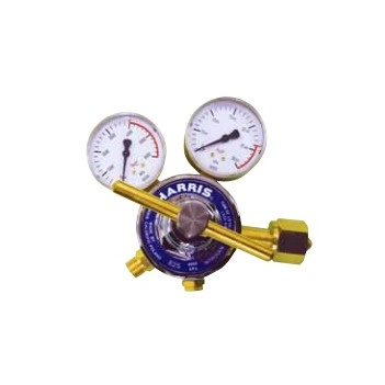 Harris Model 825 C02 Pressure reg, Snap Safe Side Inlet, 0-1000kpa