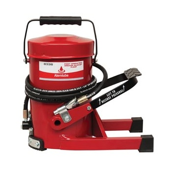 Foot Operated Grease Bucket Pump 8338