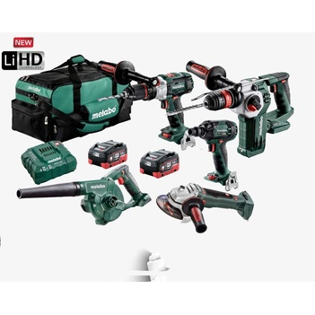Impact Drill/ Driver/ Hammer/ Grinder and Blower 5 Piece Kit AU68503000