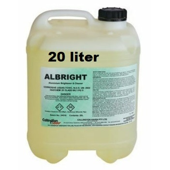 Aluminium Brightener & Cleaner Albright 20L