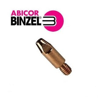 Binzel Contact Tips M6/8mm 28mm Long   Made in Germany