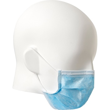Disposable Face Mask Blue 3 Ply Pack of 50 Prochoice DFMB