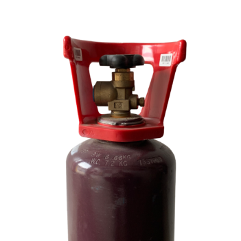 Acetylene Gas D size Bottle + Gas GASACETD