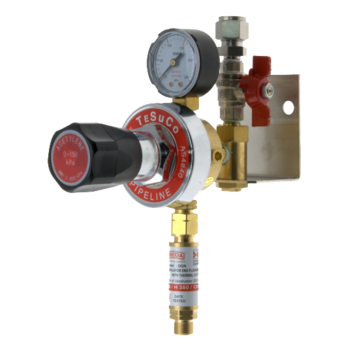 Regulated Outlet Point Single Acetylene