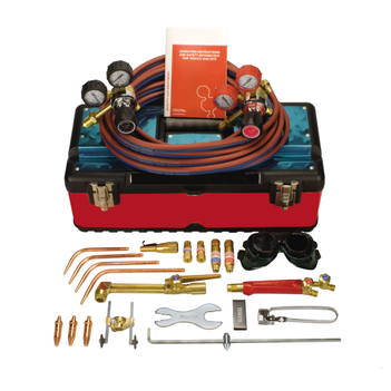 Brazing, Heating, Cutting Kit Oxygen / LPG Side Entry Oxygen Regulator