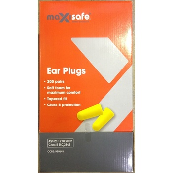 Maxisafe Ear Plugs Uncorded