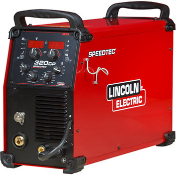 Speedtec 320CP Multi-Process Inverter PuLse Mode With MB36 3 Metres Gun Aluminium Setup Lincoln K14168-2
