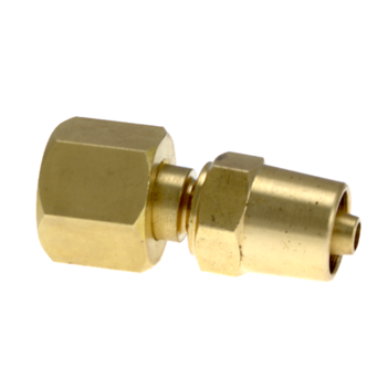 LP112 Hose Connection Brass 5/8-18 UNF RH / 5mm Hose Type