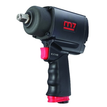 "M7-NC6236Q 3/4"" DR, 1200 ft/lb M7 Air Impact Wrench, Q-Series Pistol Style"