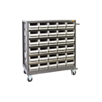 Mobile Steel Parts Cabinet 30 draw