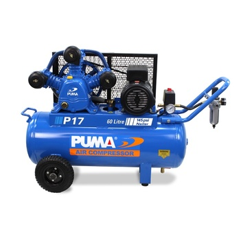 Air Compressor Dependable Performance 60L Puma PU P17 240V
