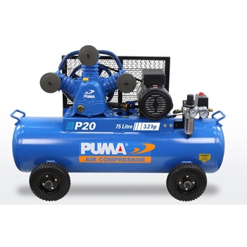 Air Compressor Dependable Performance 75 Litre Puma PU P20 240V