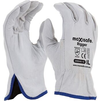 Medium Sized Rigger Gloves Full Cow Grain Riggergloves-M