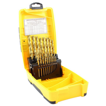 25pce Metric Alpha Tuffbox Drill Set 1.0-13.0mm