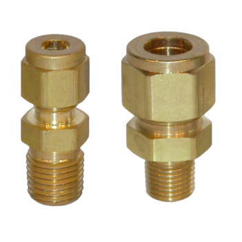 Compression Fitting Brass Tesuco
