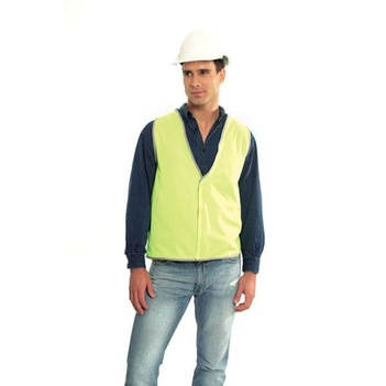 SAFETY VEST DAY ONLY Fluoro Yellow