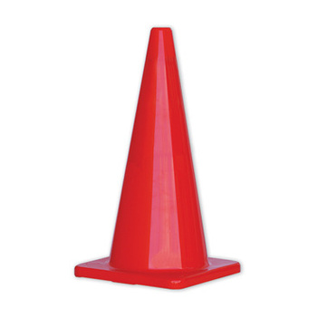 PRO Orange Hi-Vis Traffic Cones - 700mm Height