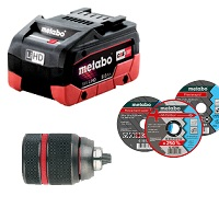 ACCESSORYS/BATTERIES METABO category image